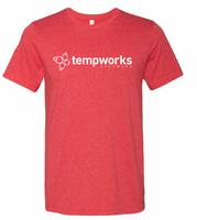 TempWorks Software Unisex Ringspun Tee