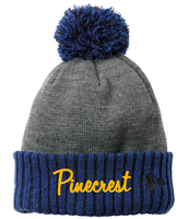 Pinecrest New Era Brand Fleece Line Pom Hat