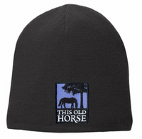 This Old Horse Fleece Lined Beanie