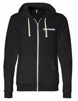 TempWorks Software Unisex Triblend Sponge Fleece Full Zip Sweatshirt