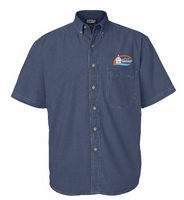 City of Hastings Short Sleeve Denim Shirt