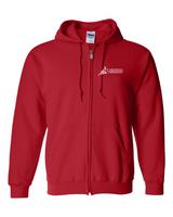 Cardinal of MN -  Full-Zip Hooded Sweatshirt