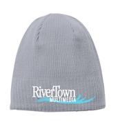 River Town Multimedia New Era® Knit Beanie