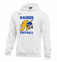 HHS Football Varsity Nike Fleece Hooded Sweatshirt