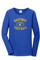 Hastings Football Long Sleeve T - Ladies