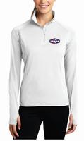 Tonna Ladies Sport Wick Stretch 1/2 Zip Pullover