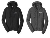 Axis Fleece Full-Zip Hooded Sweatshirt
