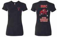 Red Bulls Ringspun Ladies Tee