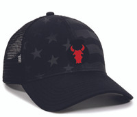 Red Bulls US Flag Trucker Hat