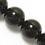 10mm Gemstone Round natural Black Onyx Beads