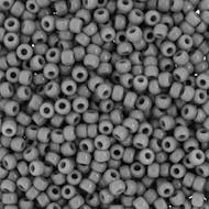 11/0 Japanese Seed beads Opaque Grey 28GM