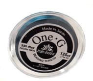 125 Yards Spool Toho One-G Thread Blue
