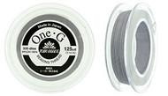 125 Yards Spool Toho One-G Thread Light Grey