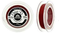 125 Yards Spool Toho One-G Thread Red