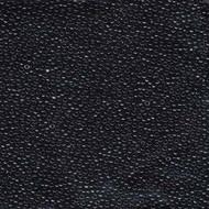 15/0 Japanese Round Miyuki Opaque Black Glass Seed Beads