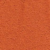 15/0 Japanese Round Miyuki Opaque Orange Seed Beads