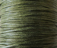 2 meters Genuine Olivine waxed Cotton Cord 1.mm