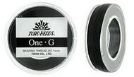 250 Yards Spool Toho One-G Thread Black