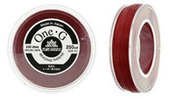 250 Yards Spool Toho One-G Thread Red