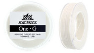 250 Yards Toho One-G Thread White