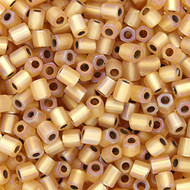 8/0 Japanese Dark Amber Matte Beads 15GM