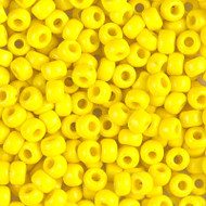 8/0 Japanese Opaque yellow Glass Seed beads 28 Gram