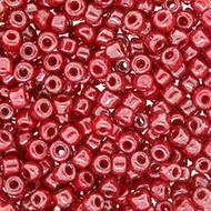 8/0 Opaque  Dark Cherry Luster Round Japanese