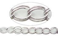 Aluminum Chain Bright Silver