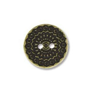 Ant Br 12.1mm Coin Pewter Button