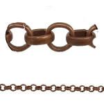 Antique Copper Plated Rolo Chain