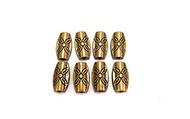 Bronze metal beads