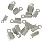 Cord Tips Silver Plated (6PCs)