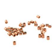 Crimp Tube 2X2mm Copper plated