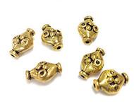 Antique Gold Metal Bead