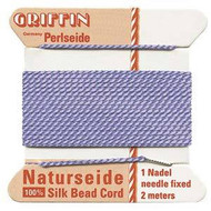 Griffin silk bead cord Lilac 10