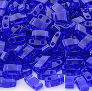 Half Tila Translucent Cobalt Blue 10Gm Bag