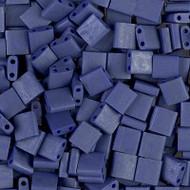 Japanese Matte Matte Opaque Cobalt Luster Tila Glass Beads