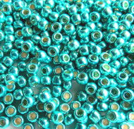Japanese Sea Foam Green Galvanized Permanent Glass Seed beads