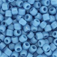 Japanese Sky Blue Ceylon Luster Glass Seed beads-28 grams