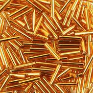 Miyuki 30mm Bugle Gold Lined