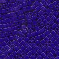 Miyuki 4mm Cube Op Cobalt  Beads