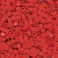 Miyuki 4mm Square Opaque Red Beads