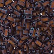 Miyuki Half Tila Matte Met Copper 10Gm Bag