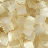 Miyuki Japanese Tila Seed beads Ivory Mist 10 Grams