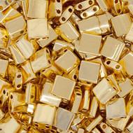Miyuki Tila 24KT Gold Plated 5 Grams