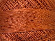 Pearl Cotton Bronze Brown #12 Beading Thread