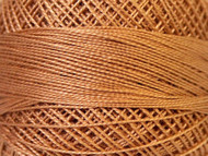 Pearl Cotton Lt Brown #12 Beading Thread