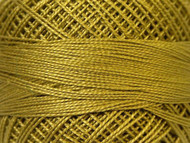 Pearl Cotton Lt Olive Green #12 Beading Thread