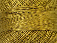 Pearl Cotton Olive Green #12 Beading Thread