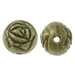 Rosebud Metal Ant Brass Beads